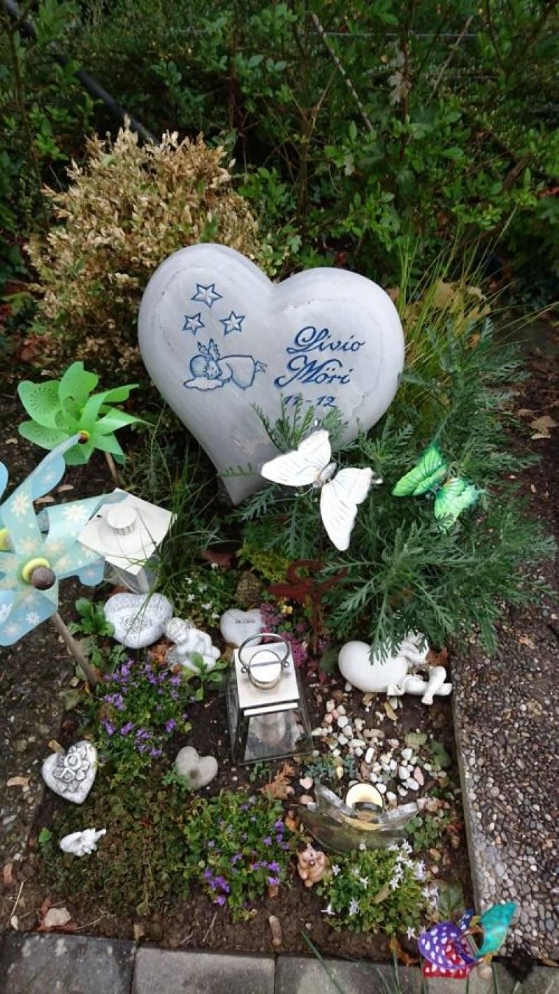 Coeur en Marbre Bluette